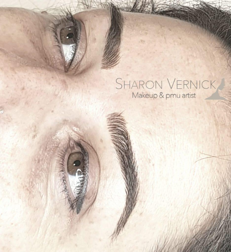 מיקרובליידינג שיטת השערה -בוצע על ידי שרון ורניק - Magic cosmetic